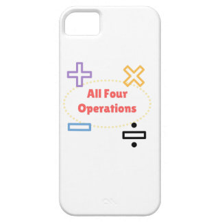 All Four Operations iPhone SE/5/5s Case