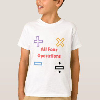 All Four Operations T-Shirt