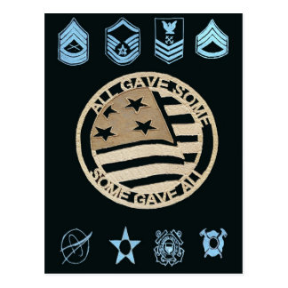 All Gave Some: Some Gave All Postcard
