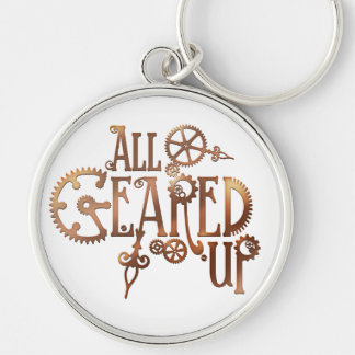 All Geared Up Steampunk Keychain