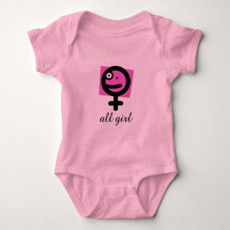 All Girl Baby Bodysuit