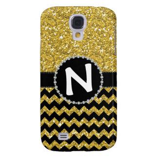 All Glitter Yellow, Diamond Ribbon Galaxy S4 Galaxy S4 Case