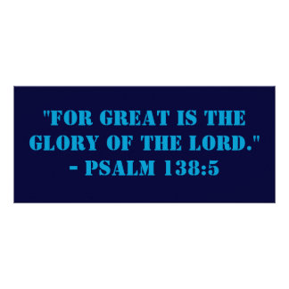 All Glory to Him Above Bookmark Personalized Rack Card