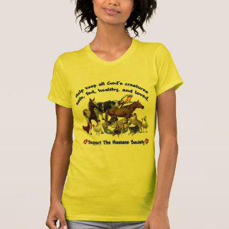 All Gods Creatures Humane Society T-Shirt