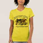 All Gods Creatures Humane Society Tee Shirts