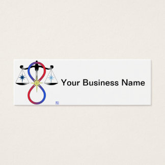 All Gods Universal Power Color - Religious Symbol Mini Business Card