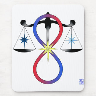 All Gods Universal Power Color - Religious Symbol Mouse Pad