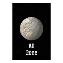 All gone poster