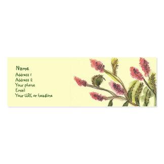 All Good Flowers card. Business Card