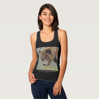 All Good Things Are Wild and Free - Bear T-Shirt