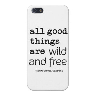 All Good Things Are Wild and Free Case For iPhone SE/5/5s