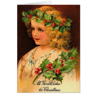All Good Wishes at Christmas Card