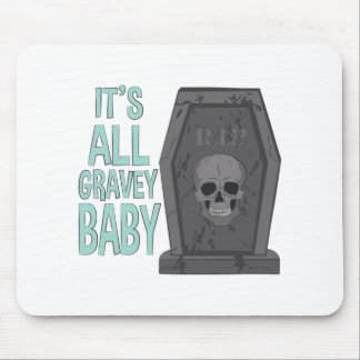 All Gravey Baby Mouse Pad
