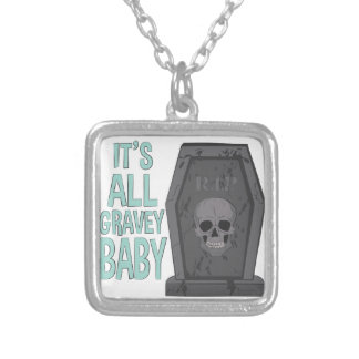 All Gravey Baby Silver Plated Necklace