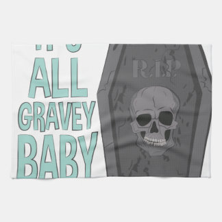 All Gravey Baby Towel
