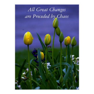 All Great Changes Poster