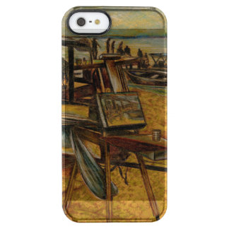 All Great Painting starts with one Brush Stroke Clear iPhone SE/5/5s Case