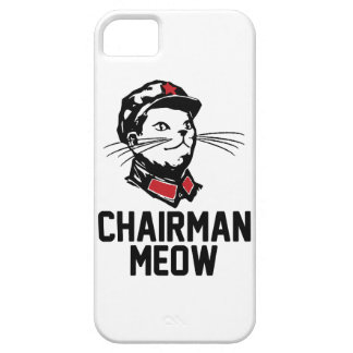 All hail Chairman Meow iPhone SE/5/5s Case