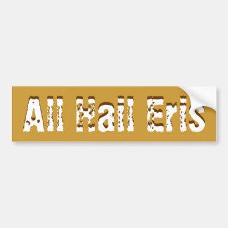 All Hail Eris Bumper Sticker