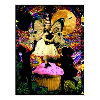 All Hail The Cupcake Fairy Postcard