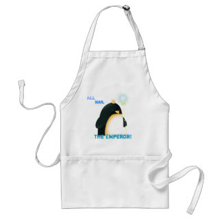 All hail the Emperor! apron