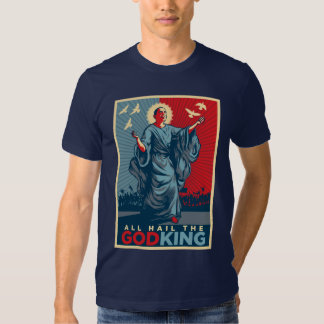 All Hail the God-King Obama T-shirt