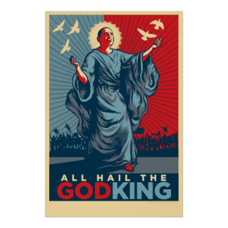 All Hail The God-King Poster