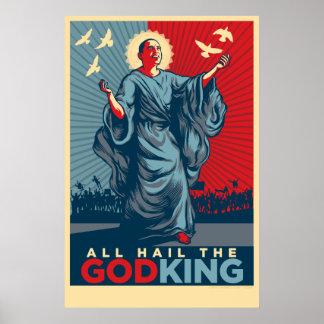 All Hail The God-King Poster