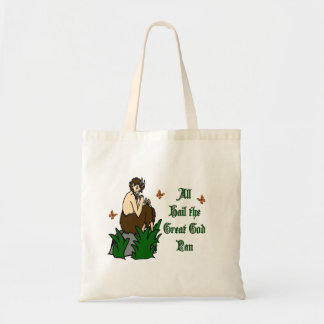 All Hail the Great God Pan Tote Bag