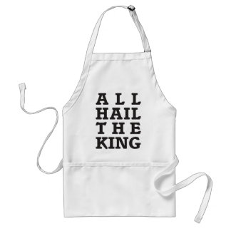 All Hail the King Adult Apron
