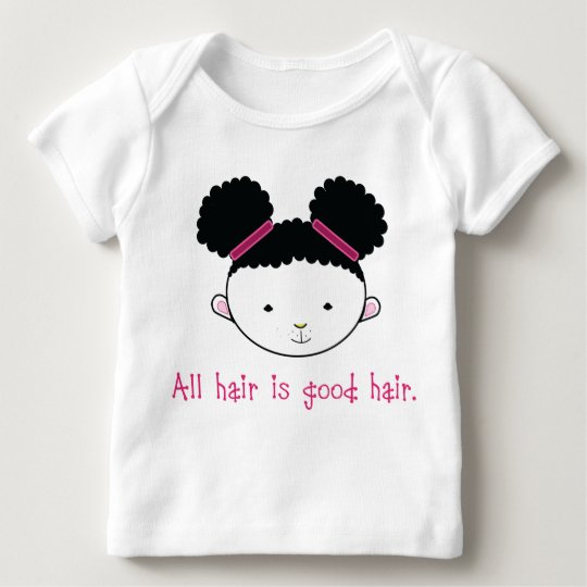 All Hair is Good Hair (Afropuff Bunny) Baby T-Shirt