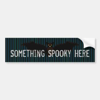 All Hallow s Blue Stationery Bumper Sticker