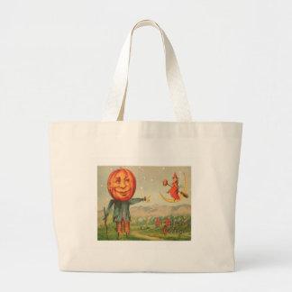 All Hallowe'en Greetings Jumbo Tote Bag