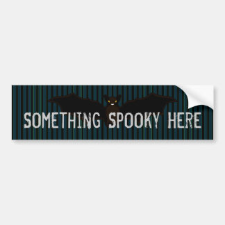 All Hallow's Blue Stationery Bumper Sticker