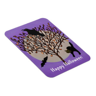All Hallows Eve Halloween Magnet