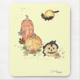 All Hallows Eve Mouse Pad