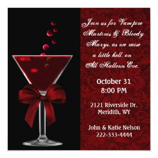 All Hallows Eve Party Invitaton Card