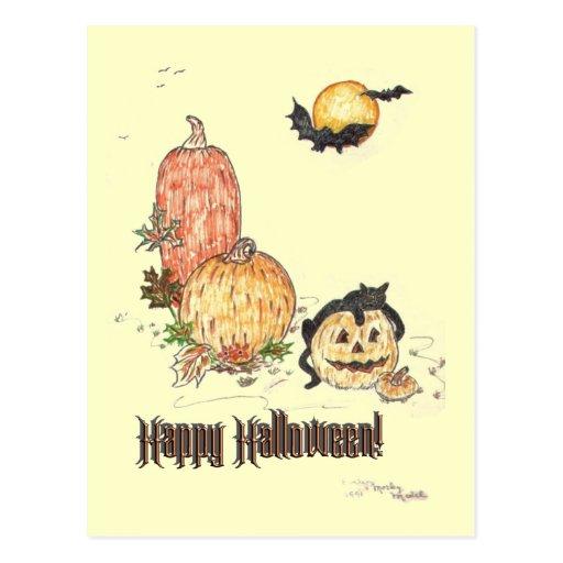All Hallows Eve Postcard
