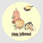All Hallows Eve Stickers
