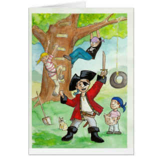 All Hands on Deck! Stationery Note Card