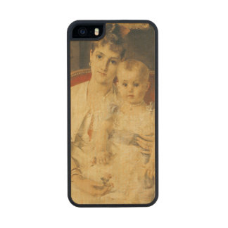 All Happiness  c.1880 Wood iPhone SE/5/5s Case
