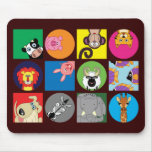 ALL HAPPY ANIMALS MOUSE MATS