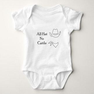 All Hat, No Cattle Baby Bodysuit