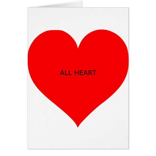 all heart card
