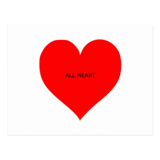 all heart postcard