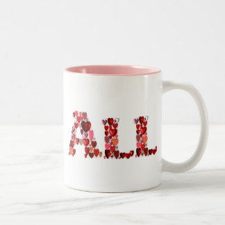 All Heart! Two-Tone Coffee Mug