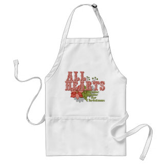 All Hearts Adult Apron