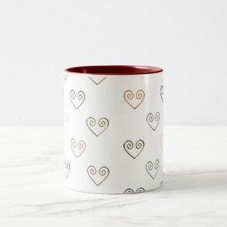 All Hearts by Vintage Love Mug