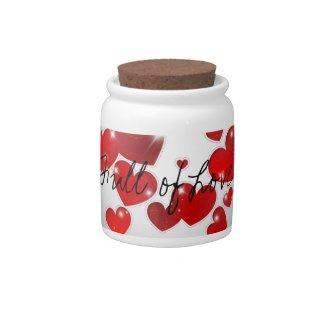 All Hearts Candy Jar