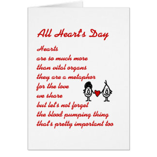 All Heart's Day Card